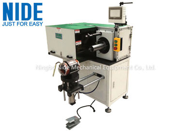 Automatic Horizontal Single Side Stator Lacing Machine , Stator OD Ranges from 175~300mm