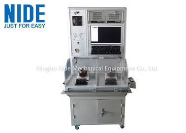 Double Stations Air Conditioner Motor Stator Testing Machine / Computer Control