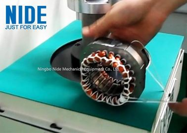 Economical AC induction motor stator coil lacing machine, washing machine coil lacing equipment manufacture