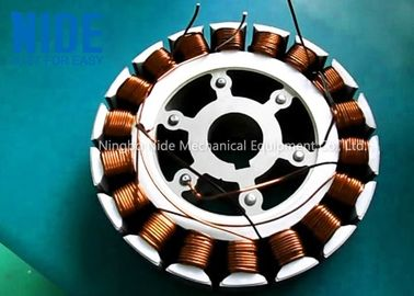 BLDC Stator Winding Machine Color Customized For Wheel Hub Motor Stator