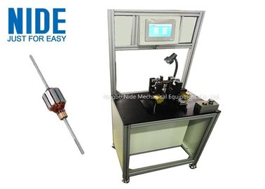 Dynamic Armature Balancing Machine With Belt Drive , DC Power Tool Motor Balancing Machine